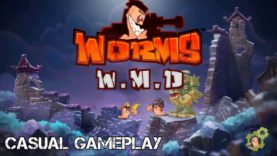 Worms, Explosions, and Laughter! – Auronado vs Mmrsmite – Worms WMD – 1080p 60fps