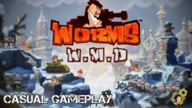 Wormy Winter Wasteland – Worms WMD – 1080p 60fps